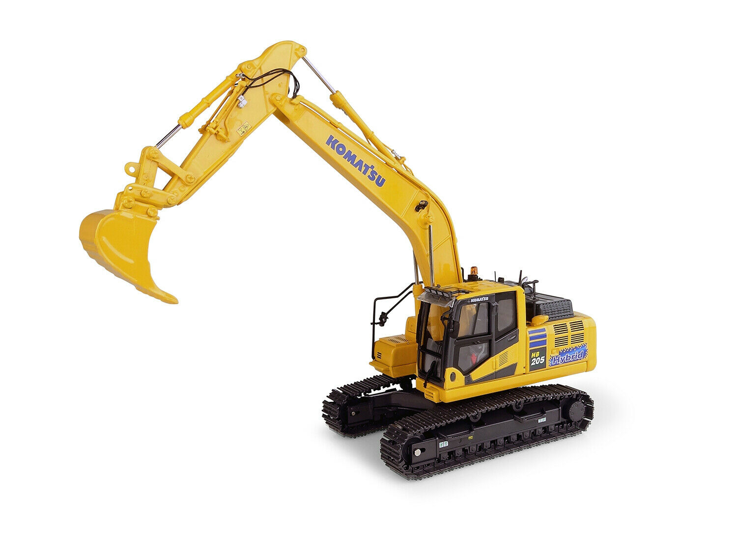 Komatsu HB205-3 Hybride Pelle japan version 1 50 par Universal Hobbies UH8136
