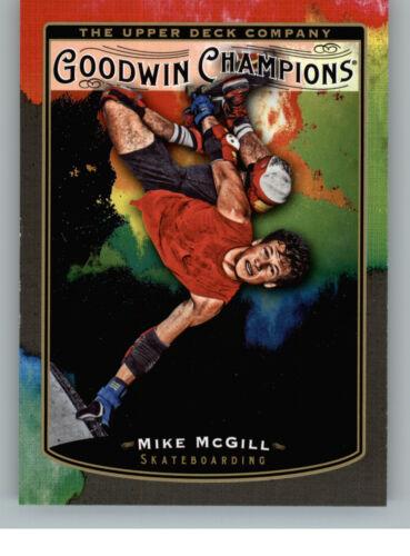 2019 Upper Deck Goodwin Champions Splash of Color 136 Mike McGill