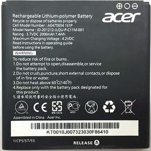Original-Acer-2000mah-Battery-Akku-ae475654-Liquid-e2-Duo-v370