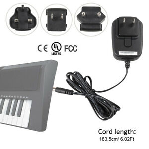 Adapter For Yamaha YPG-635 YPG-535 YPG-235 Portable Grand Piano Power Supply