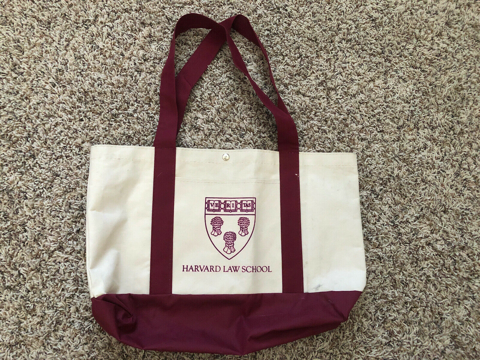 Harvard Veritas Law School Tot Bag 2