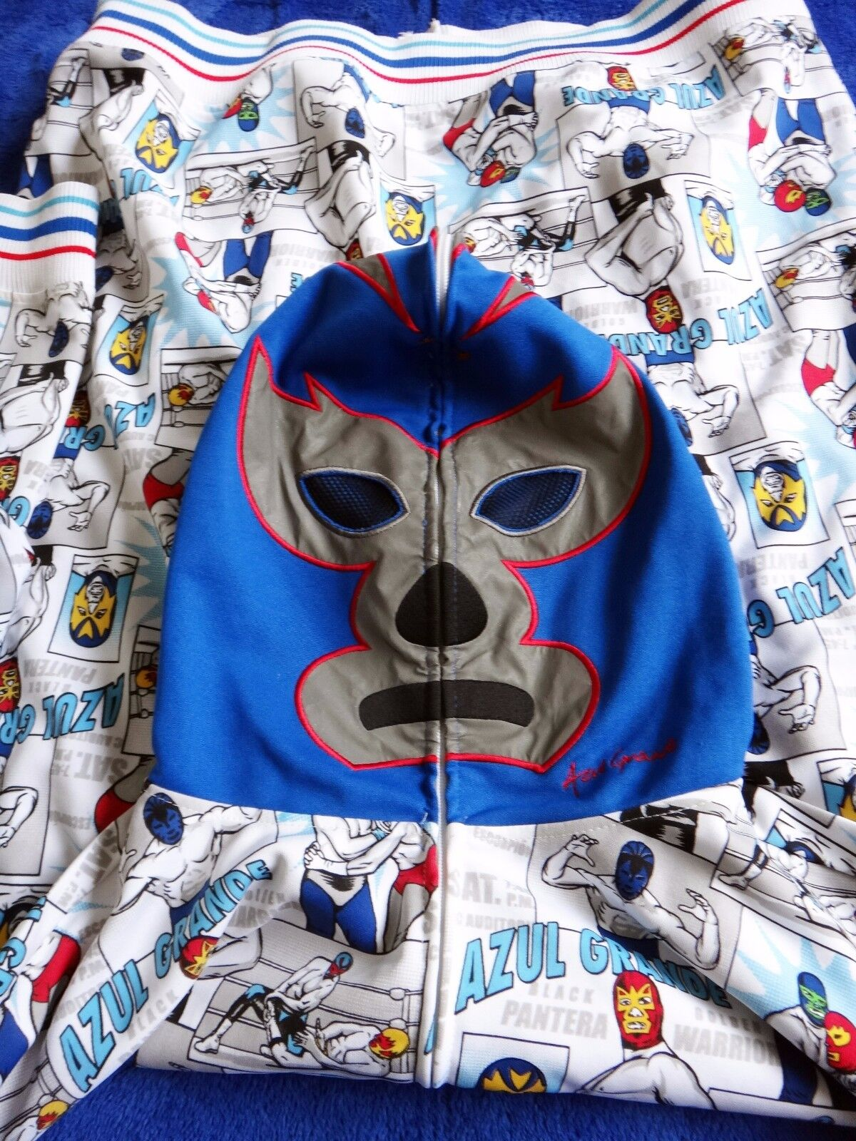 MEXICAN Lucha wrestling mask Lucha MEXICAN Libre pro Luchador Pro ADULT mask wwe  レスリングマスク 04be71