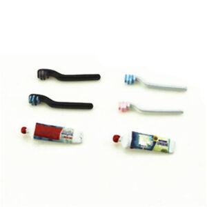 3Pcs-set-1-12-Doll-House-Miniature-Bathroom-Accessory-Toothbrush-Toothpaste