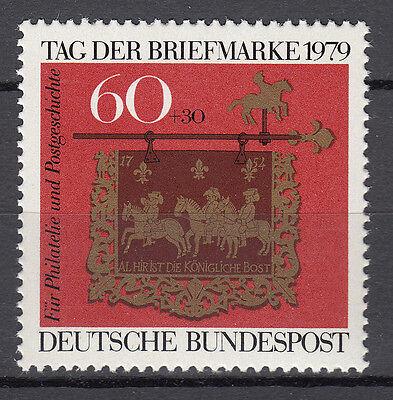Brd 1979 Mi. Nr. 1023 Postfrisch Luxus!!! Reisen