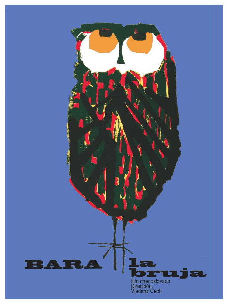 5782.Bara la bruja Movie POSTER.Owl Interior design.Decoration home Office Art