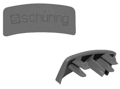 L/'eau Fente Casquettes 20 Pcs Pour PVC-Fenêtre acajou Schüring pour Schüco uvm