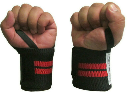 Weight Lifting Wraps Gym Wrist Support Protector Bandages Powerlifting Straps