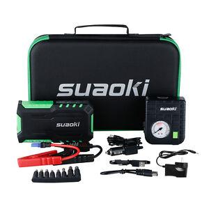Suaoki-G7-PLUS-18000mAh-Car-Vehicle-Jump-Starter-Charger-Power-Bank-80PSI-pump