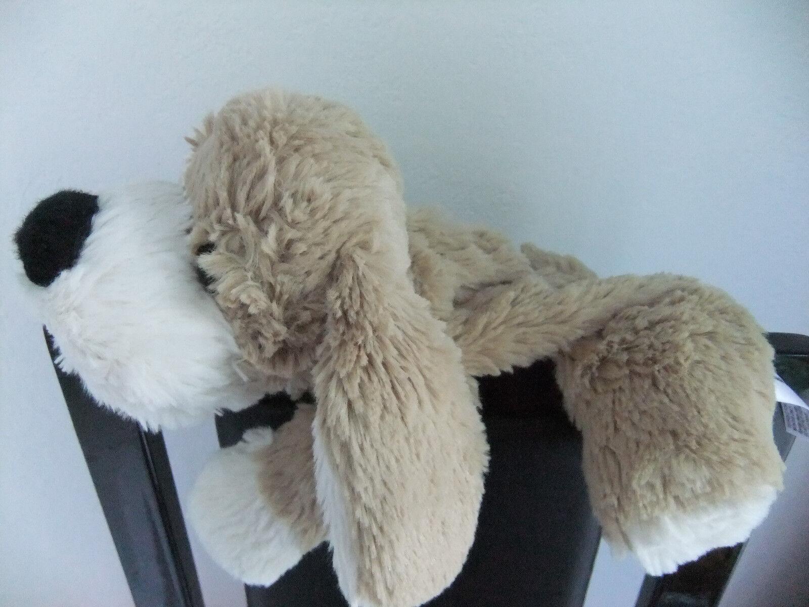 9  BHS MICROWAVE BEAR SOFT TOY HOTTIE NO WHEAT BAG TAN BEIGE CREAM PUPPY DOG