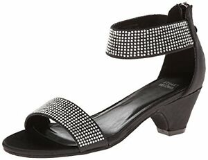 a2d6c7c56 Image is loading NEW-STUART-WEITZMAN-Verna-Alexandra-Girls-Sandals-Black-