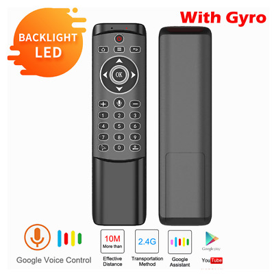 USB Receiver for Smart TV Universal 2.4G Wireless Voice Input Remote Mouse