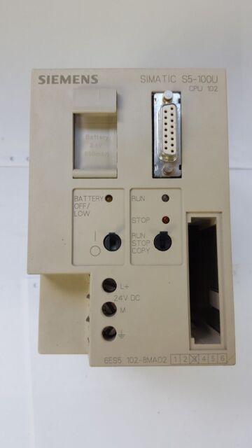 Siemens Simatic S5 CPU 100,6ES5 100-8MA02,6ES5100-8MA02