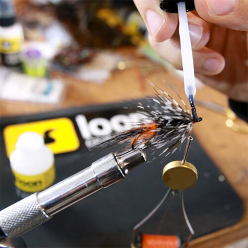 LOON OUTDOORS WATER-BASED HEAD CEMENT SYSTEM Fly Tying Thin Head Cement NEW!