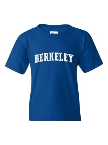 Berkeley CA California Map Flag Home of University of Los Youth/&Kids T-Shirt
