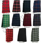 New Men's 5 Yard Scottish Kilts Tartan Kilt 13oz Highland Casual Kilt 13 Tartans