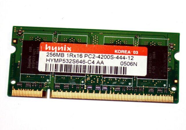 Hynix HYMP125S64CP8-Y5 (2GB, PC2-5300 (DDR2-667), DDR2 SDRAM, 667 MHz, SO...