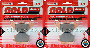 two disc model Kawasaki GPZ500S front brake disc /& sintered pads 1994-2004