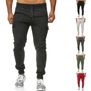Reslad-Herren-Jogginghose-Sweatpants-Jogger-Freizeithose-Hose-Cargo-Hose-RS-5075