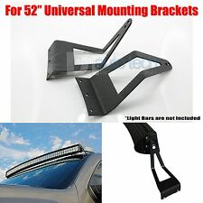 99-15 Ford F250 52 Inch Curved Straight LED Light Bar Mounting Brackets Holder