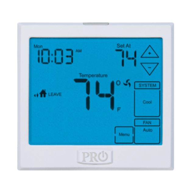 Pro1 T755 Digital  5//1//1 Day Programmable HP Thermostat 3H//2C 3 Heat 2 Cool