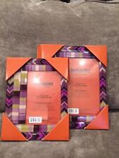 Missoni For Target Set of 2 Glass Zig Zag Chevron Passione Picture Frames New