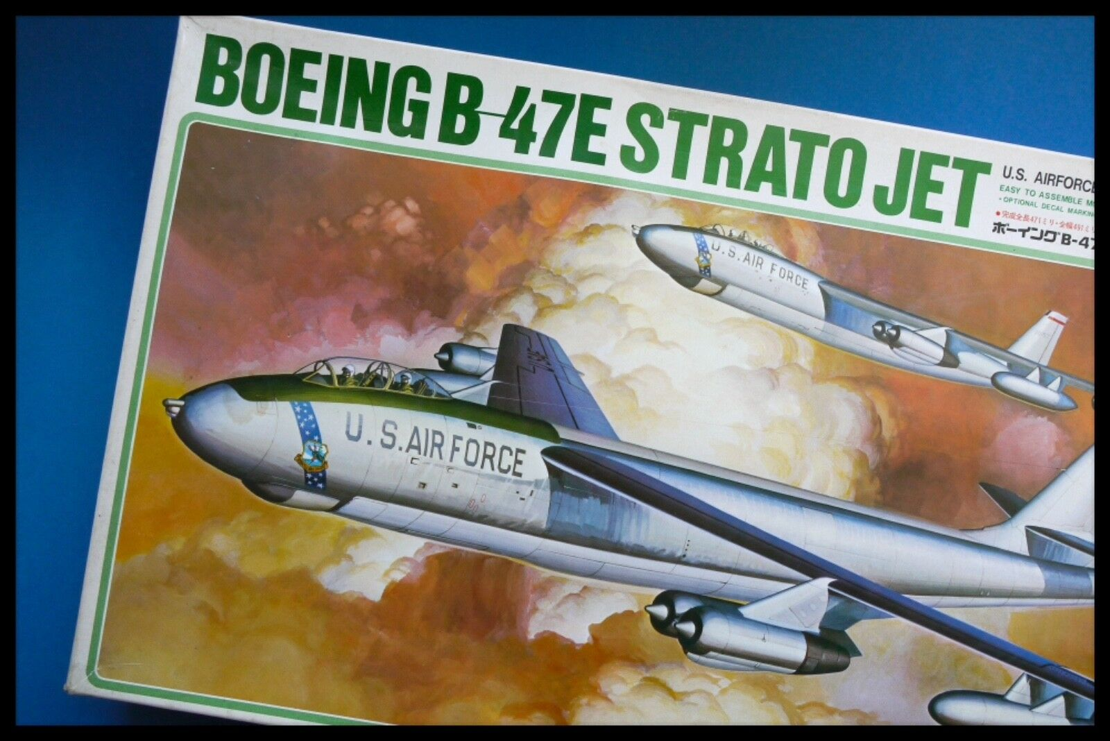 Hasegawa 1 72 BOEING B-47E U.S. AIRFORCE STRATO JET Plastic Kit