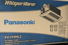 Panasonic FV-11VHL2 WhisperWarm110 CFM 0.7 Sone Ceiling Mounted White NEW