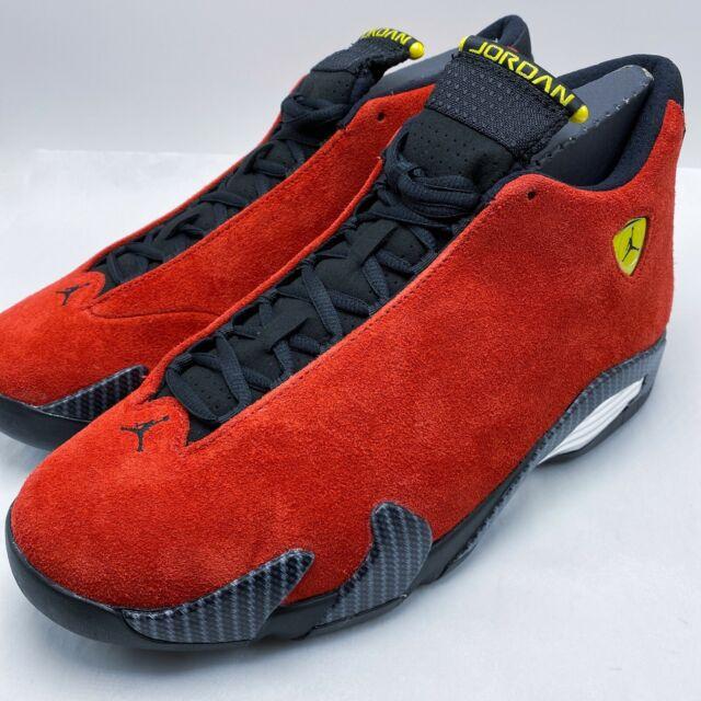 Size 10 - Jordan 14 Retro Ferrari 2014