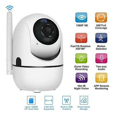 Smart 1080P HD Wireless IP Camera Two Way Audio Home Security CCTV Night Vision