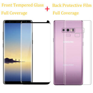 9H-Tempered-Glass-Screen-Protector-Back-PET-Film-For-Samsung-Galaxy-Note-8-9-S9