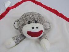 Baby Starters Snuggle Buddy Sock Monkey Security Blanket - Lovey