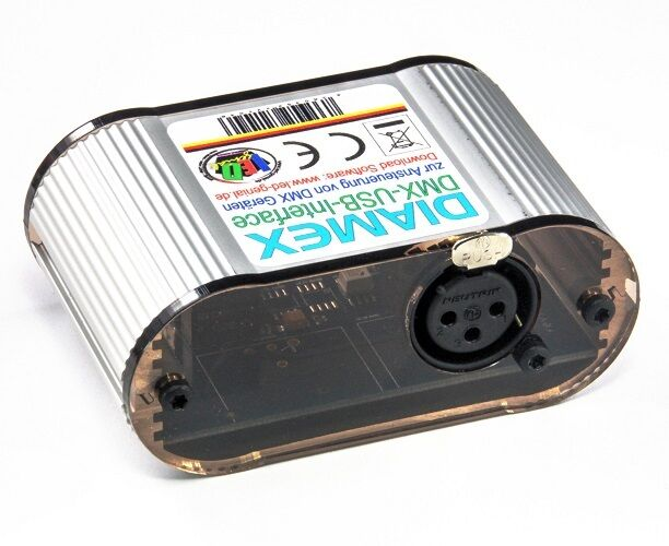 DIAMEX USB-DMX-Interface für WS2812B , SK6812 , PL9823