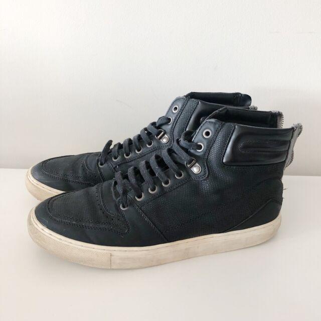 zara man high top sneakers