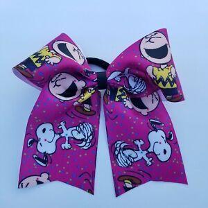 Charlie Brown Cheer Hair Bow