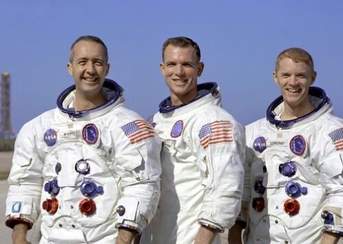 Scott Schweickart 5x7 Photo Apollo Mission NASA Apollo 9 Crew McDivitt