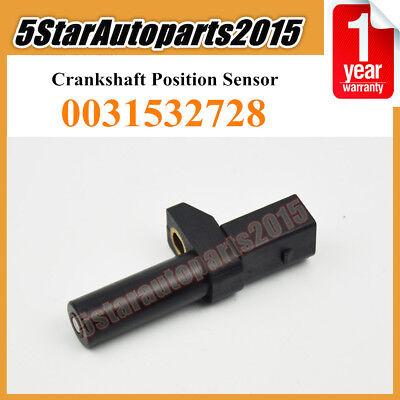 X AUTOHAUX 0031532728 Vehicle Crankshaft Position Sensor for Mercedes-Benz for Chrysler for Dodge