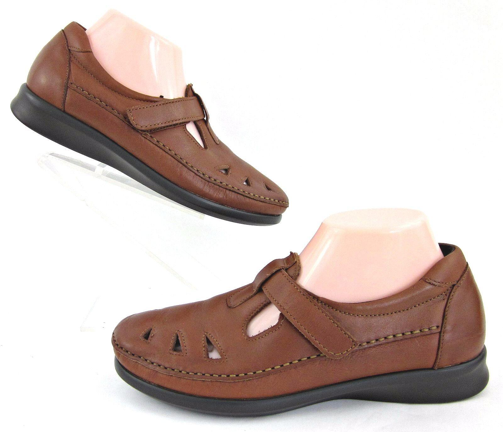 SAS Donna Donna SAS 'Roamer' Slip On Tripad Comfort Chestnut Scarpe Chestnut Comfort   df3944