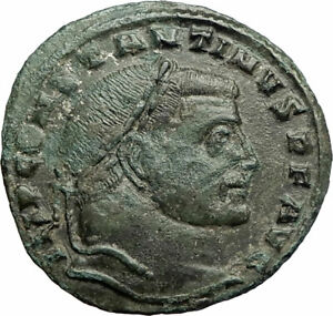 CONSTANTINE-I-the-GREAT-313AD-Authentic-Ancient-Roman-Coin-JUPITER-ZEUS-i77076