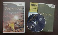 Nintendo Wii Fire Emblem Radiant Dawn Akatsuki Megami Japan Import Game