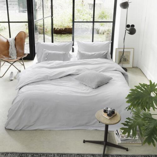 Walra algodón ropa de cama the new vintage gris claro uni 100/% algodón perchas libre