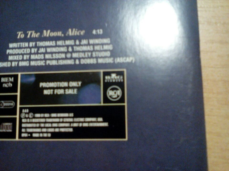 Thomas helmig promo cd: To the monn Alice, andet