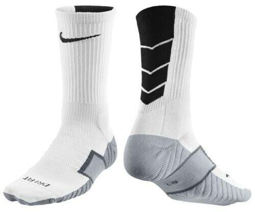 87db9cc86 Men's Nike Elite Stadium Performance Crew Cushioned Soccer Socks Sx4854-110  Sz S for sale online   eBay