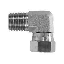 1501 06 06 Hydraulic Fitting 38 Pipe Male X 38 Pipe Swivel Female 90 Npt