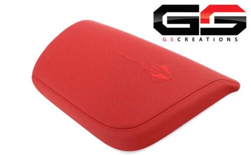 C7 Stingray Grand Sport Corvette Adrenaline Red Armrest Lid Napa Leather 70i
