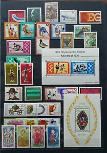 Germany-Federal-Frg-vintage-yearset-Yearset-1976-Mint-MNH-complete-Complete