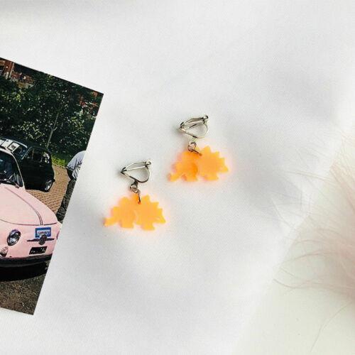 Stud Femmes Boucles D/'oreilles piecd Eardrop Stud Bijoux Acrylique Dinosaure translucide