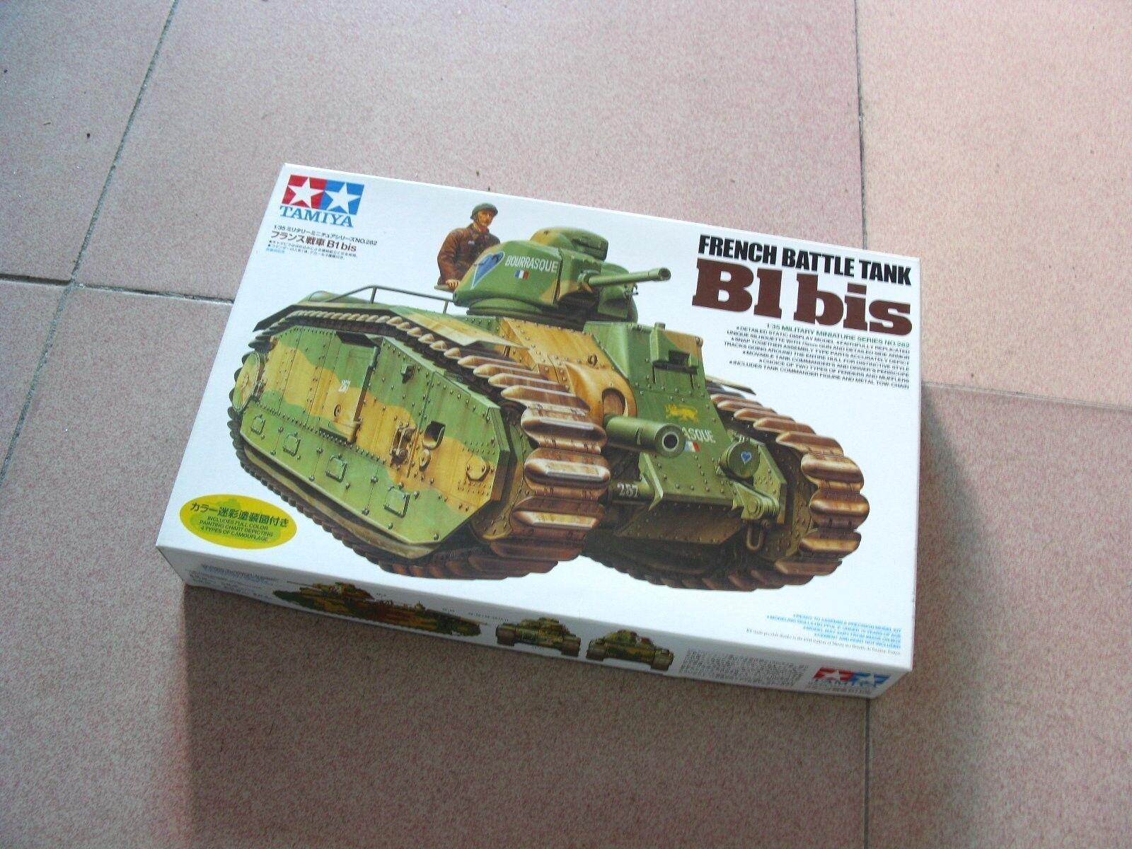 Tamiya 1 35 French Battle Tank Char B1 bis