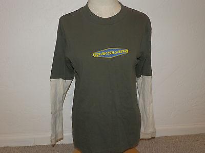 Boys shirt size Large Quiksilver shirt size Large Green shirt size Large