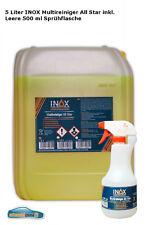 Fahrzeugreiniger Konzentrat Innenreiniger 1x5 Liter + leere 500 ml Sprühflasche