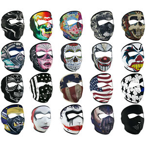Black Panther Bane Skull Reversible Biker Motorcycle Neoprene Full Face Ski Mask Ebay